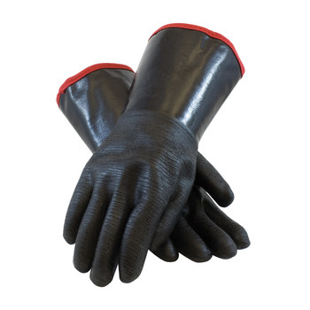 """PIP ChemGrip Neoprene Coated Glove with Foam Insulated Liner and Etched Rough Finish - 14"""" - 57-8643R"""