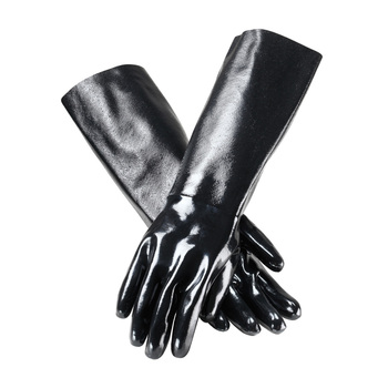 """PIP ChemGrip™ Neoprene Coated Glove with Interlock Liner and Smooth Finish - 18"""" - 57-8645"""