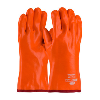 PIP ProCoat® Insulated PVC Dipped Glove with Smooth Finish - Gauntlet Cuff - 58-7304