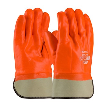 PIP ProCoat® Insulated PVC Dipped Glove with Smooth Finish - Safety Cuff - 58-7305