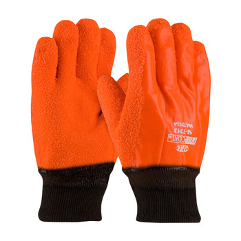 PIP ProCoat® Insulated PVC Dipped Glove with Crystal Grip - Knitwrist - 58-7313