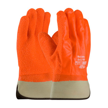 PIP ProCoat® Insulated PVC Dipped Glove with Crystal Grip - Safety Cuff - 58-7315