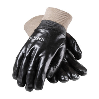 PIP ProCoat PVC Dipped Glove with Interlock Liner and Smooth Finish - Knitwrist - 58-8015