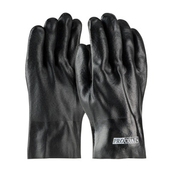 """PIP ProCoat® PVC Dipped Glove with Jersey Liner and Rough Acid Finish - 10"""" - 58-8020DD"""