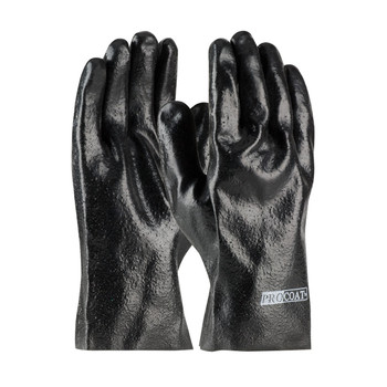 """PIP ProCoat® PVC Dipped Glove with Interlock Liner and Semi-Rough Finish - 10"""" - 58-8020R"""