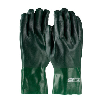 """PIP ProCoat® PVC Dipped Glove with Jersey Liner and Rough Acid Finish - 12"""" - 58-8025DD"""