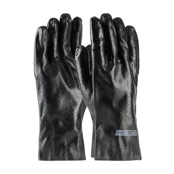 """PIP ProCoat® PVC Dipped Glove with Interlock Liner and Semi-Rough Finish - 12"""" - 58-8030R"""