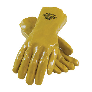 """PIP ProCoat PVC Dipped Glove with Jersey Liner and Smooth Finish - 12"""" - 58-8030Y"""