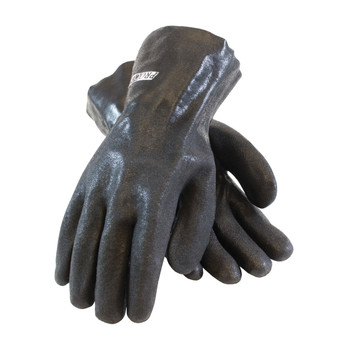 """PIP ProCoat PVC Dipped Glove with Interlock Liner and Sandy Finish - 10"""" - 58-8120DD"""
