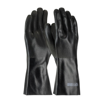 """PIP ProCoat® PVC Dipped Glove with Jersey Liner and Sandy Finish - 14"""" - 58-8240DD"""