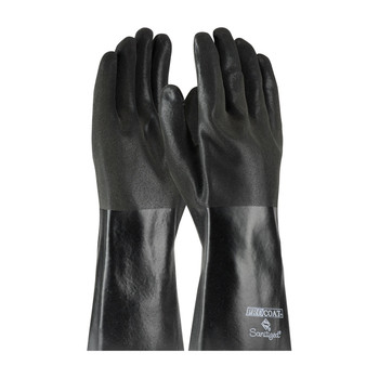 """PIP ProCoat® PVC Dipped Glove with Jersey Liner and Premium Sandy Finish - 14"""" - 58-8364"""