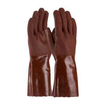 """PIP ProCoat® PVC Dipped Glove with Jersey Liner and Premium Sandy Finish - 14"""" - 58-8414R"""
