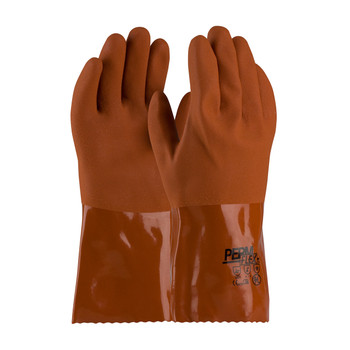 """PIP PermFlex® Cold Resistant PVC Glove with Seamless Liner and Rough Coating - 12"""" - 58-8651"""