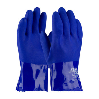 """PIP XtraTuff™ Oil Resistant PVC Glove with Seamless Liner and Rough Coating - 10"""" - 58-8655"""
