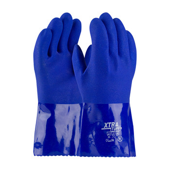 """PIP XtraTuff™ Oil Resistant PVC Glove with Seamless Liner and Rough Coating - 12"""" - 58-8656"""