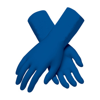 PIP Ambi-Thix Medical Grade Extra ThickLatex Glove Powder Free with Fully Textured Grip - 13 Mil - 62-327PF - 10/CS