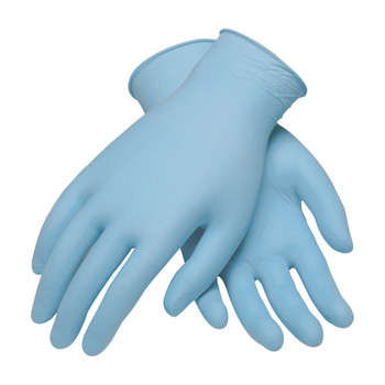 PIP Ambi-dex Light DutyNitrile Glove Powder Free with Textured Grip - 3 Mil - 63-232PF - 10/CS