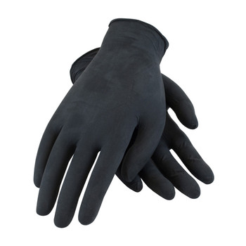 PIP Ambi-dex Industrial GradeNitrile Glove Powdered with Textured Grip - 4 Mil - 63-732 - 10/CS