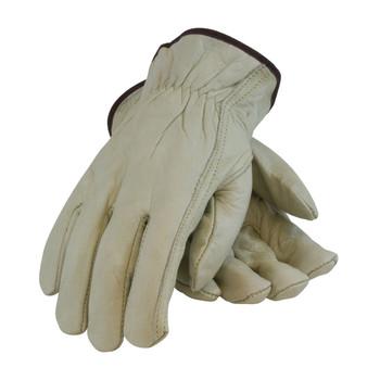 PIP PIP Economy Grade Top Grain Cowhide Leather Drivers Glove - Keystone Thumb - 68-162