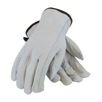 PIP PIP Regular Grade Top Grain Cowhide Leather Drivers Glove - Keystone Thumb - 68-163