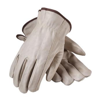 PIP PIP Superior Grade Top Grain Cowhide Leather Drivers Glove - Keystone Thumb - 68-165
