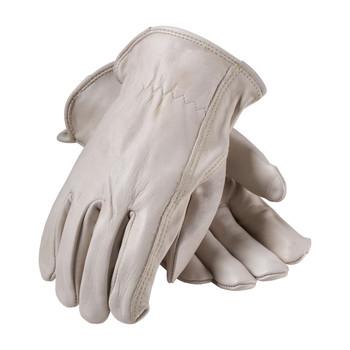 PIP PIP Premium Grade Top Grain Cowhide Leather Drivers Glove - Keystone Thumb - 68-168