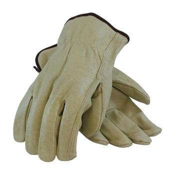 PIP PIP Economy Grade Top Grain Pigskin Leather Drivers Glove - Straight Thumb - 70-301