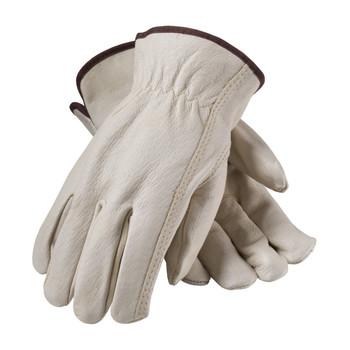 PIP Premium Grade Top Grain Pigskin Leather Drivers Glove - Keystone Thumb - 70-368
