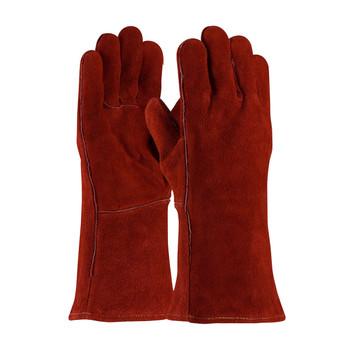 PIP  Shoulder Split Cowhide Leather Welder's Glove with Cotton Liner - 73-7015A