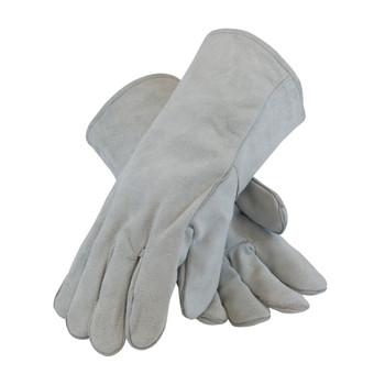 PIP Shoulder Split Cowhide Leather Welder's Glove with Cotton Liner - 73-888