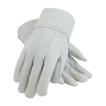 PIP Top Grain Goatskin Leather Mig Tig Welder'sGlove - Leather Slip-On Cuff - 75-4904