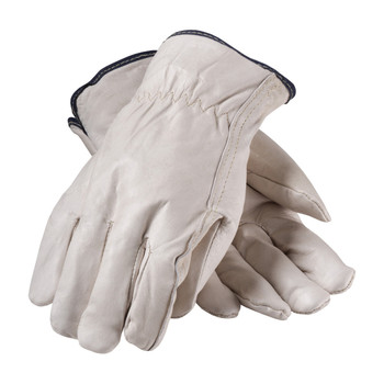 PIP Premium Grade Top Grain Cowhide Leather Glove with White Thermal Lining - Straight Thumb - 77-218