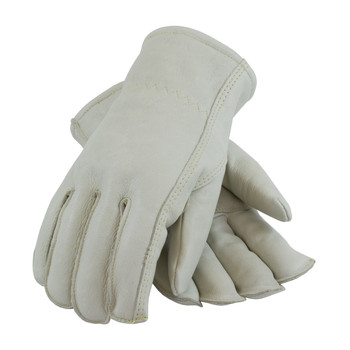 PIP Premium Grade Top Grain Cowhide Leather Glove with Fleece Pile Lining - Seams-Out - 77-298