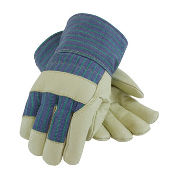 PIP Pigskin Leather Palm Glove with Fabric Back & 3M Thinsulate Lining - Safety Cuff - 78-3927
