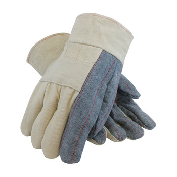 PIP Premium Grade Hot Mill Glove with Three-Layers of Cotton Canvas, Burlap Liner and Denim Palm - 34 oz - 94-934