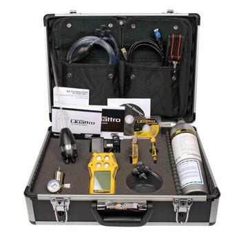 BW GasAlertQuattro Multi-Gas Detector Confined Space Kit QT-XWHM-R-Y-NA-CS [LEL, o2, co, H2S]