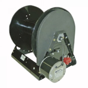 Heavy Duty 12 VDC Motor Rewind Hose Reel Up To 400' of Air Line - 860816