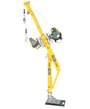 """Xtirpa™ 24"""" Reach Adapter Base Complete Confined Space Entry System w/ MSA Workman 50' SRL"""