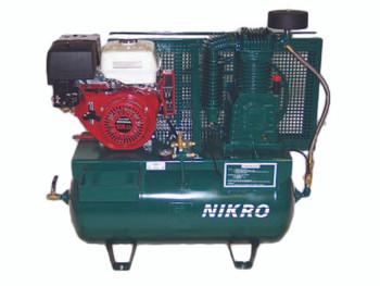 Nikro 13 H.P. Honda 2 Stage Electric Start 175 PSI Truck Mount Gasoline Compressor - 860760