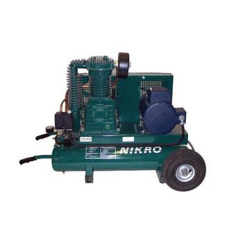 Nikro 5 H.P. 220V 2 Stage 175 PSI Portable Electric Compressor - 860760