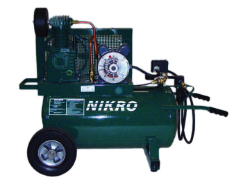 Nikro 115V Single Stage 150 PSI Portable Electric Compressor - 860758
