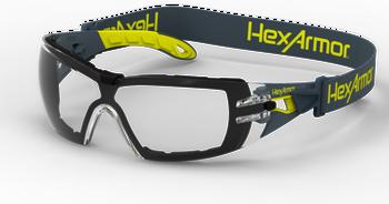3dc35362e22ef HexArmor VS250 TruShield 2SF Clear Safety Eyewear - 12/Pair - Jendco ...