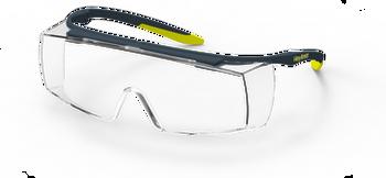 HexArmor LT250 TruShield Clear OTG Safety Eyewear - 10/Pair