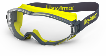 HexArmor LT300 TruShield S Clear Safety Goggles - 4/Pair