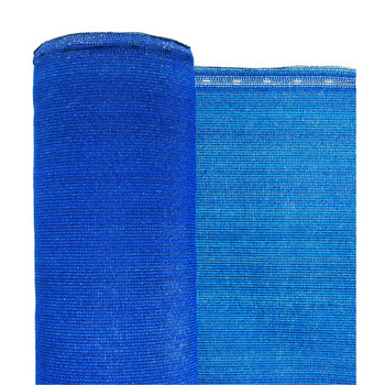 """Blue Privacy Fence Netting - 7'8"""" x 150'"""