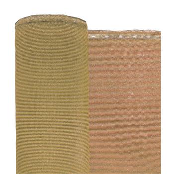 "Desert Tan Privacy Fence Netting - 7'8"" x 150'"