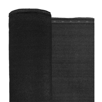 "Black Flame Retardant 1/16"" Mesh Debris Netting - 4' x 150'"