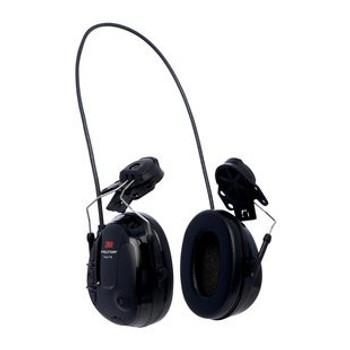 3M PELTOR ProTac III Slim Headset Black€ Hard Hat Attached MT13H220P3E