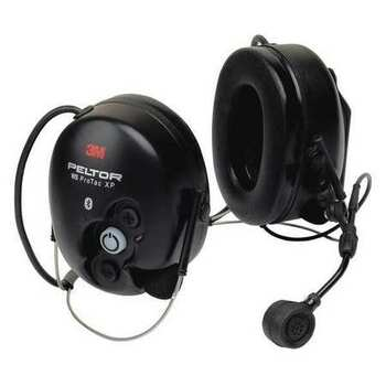 3M Peltor WS ProTac XP Communication Headset featuring Bluetooth technology -Hard Hat Attached MT15H7P3EWS5-77