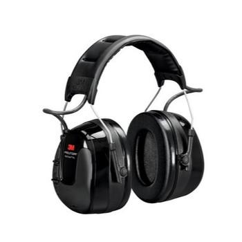 3M PELTOR WorkTunes Pro AM/FM Radio Headset Black Headband HRXS221A-NA